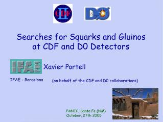 Searches for Squarks and Gluinos at CDF and D0 Detectors