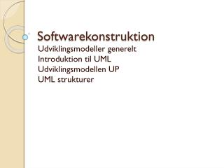Softwarekonstruktion