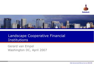 Landscape Cooperative Financial Institutions