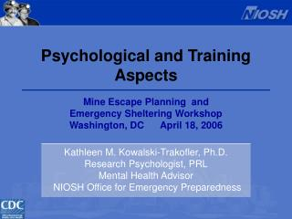 Psychological and Training  Aspects