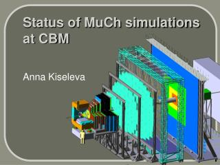 Status of MuCh simulations at CBM