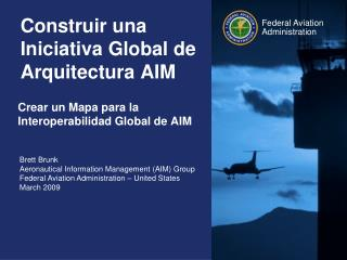 Construir una Iniciativa Global de Arquitectura AIM