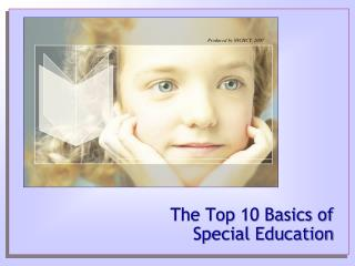The Top 10 Basics of Special Education