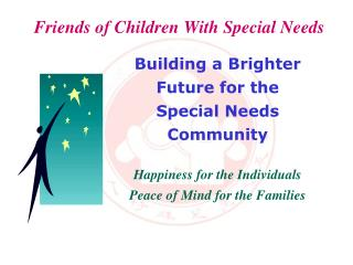Friends of Children With Special Needs