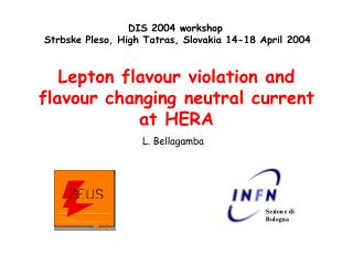 Lepton flavour violation and flavour changing neutral current at HERA