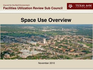 Space Use Overview
