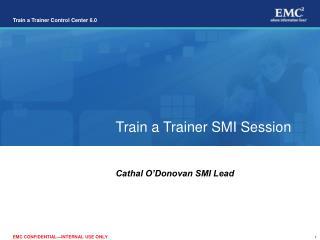 Train a Trainer SMI Session