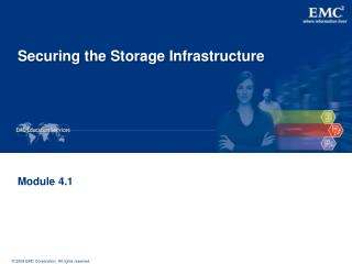Securing the Storage Infrastructure