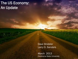 The Economy, Political change & the next farm bill