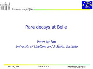 Rare decays at Belle