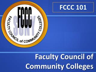 Faculty Council of Community Colleges