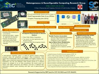 Heterogeneous & Reconfigurable Computing Research Group