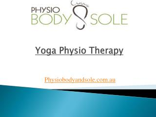 Yoga Physio Therapy
