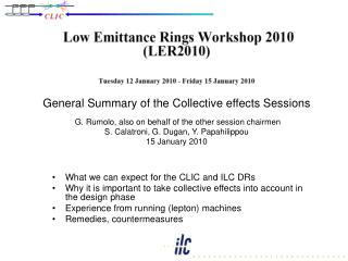 What we can expect for the  CLIC and ILC  DRs