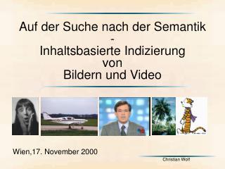Wien,17. November 2000