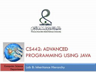 CS442: Advanced programming using java