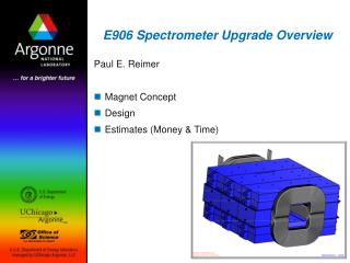 E906 Spectrometer Upgrade Overview