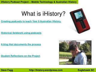 What is iHistory?