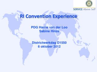 RI Convention Experience