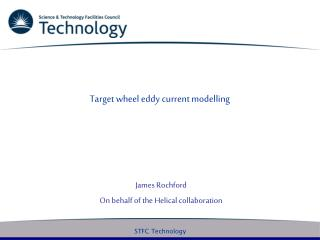 Target wheel eddy current modelling