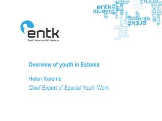Overview of youth in Estonia