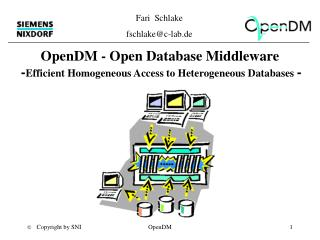 OpenDM - Open Database Middleware