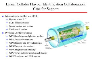 Linear Collider Flavour Identification Collaboration: Case for Support