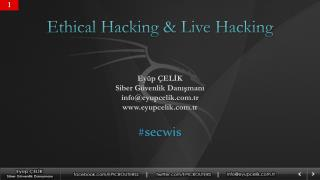 Ethical Hacking & Live Hacking