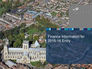 Finance Information for 2015-16 Entry