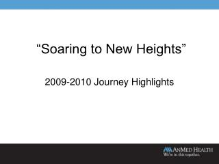 """Soaring to New Heights"""