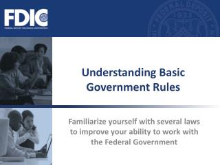Understanding Basic Government Rules