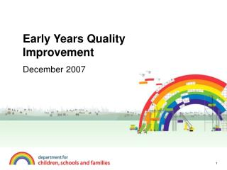 Early Years Quality Improvement