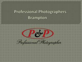 Professional Photographers in Brampton