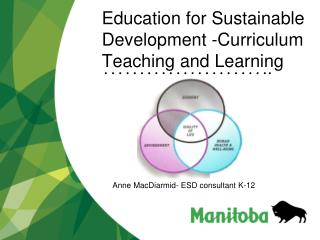 Education for Sustainable Development -Curriculum Teaching and Learning