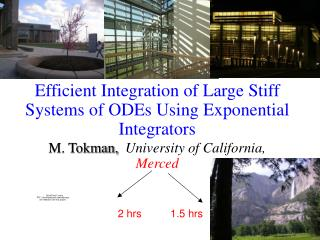 Efficient Integration of Large Stiff Systems of ODEs Using Exponential Integrators