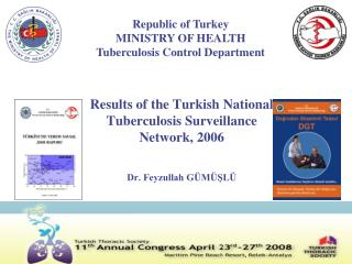 Results of the Turkish National Tuberculosis Surveillance Network, 2006