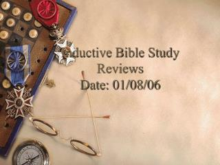 Inductive Bible Study Reviews Date: 01/08/06