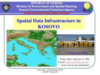 REPUBLIC OF KOSOVA Ministry Of Environment and Spatial Planning Kosovo Environmental Protection Agency Environmental Inf