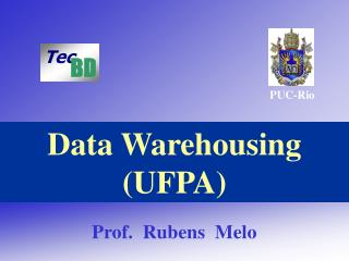 Data Warehousing (UFPA)