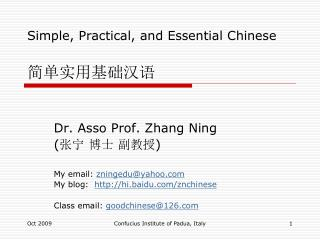 Simple, Practical, and Essential Chinese ????????