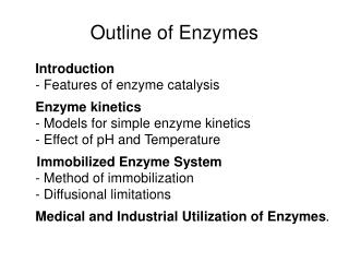 Outline of Enzymes