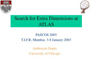 Search for Extra Dimensions at ATLAS