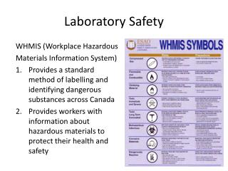 Laboratory Safety