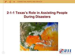 2-1-1 Texas's Role in Assisting People During Disasters