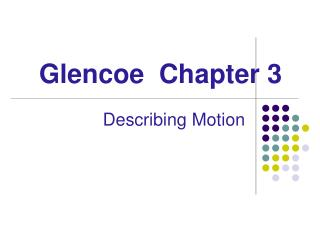 Glencoe  Chapter 3