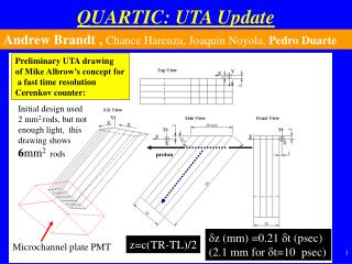 QUARTIC: UTA Update
