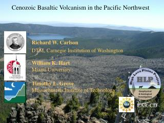Cenozoic Basaltic Volcanism in the Pacific Northwest