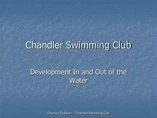 Chandler Swimming Club