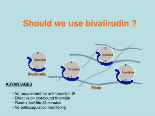 Should we use bivalirudin ?