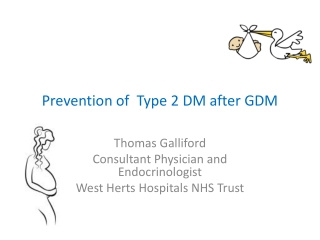 Prevention of Type 2 DM after GDM